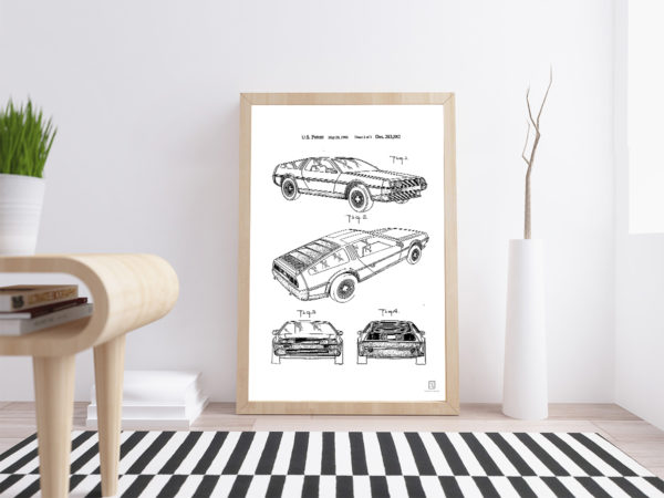 Back to the Future Poster - Home Wall Art