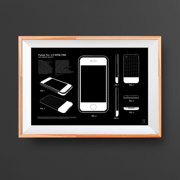 iPhone Patent Poster