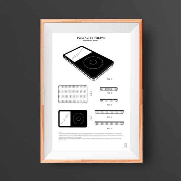 iPod Patent Poster