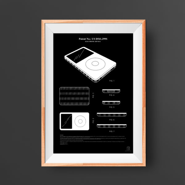 Apple iPod Patent Poster