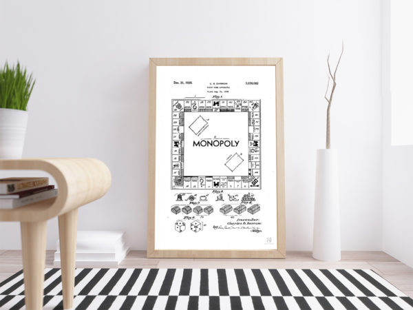 Monopoly - Games - Kids _ Wall Art Poster