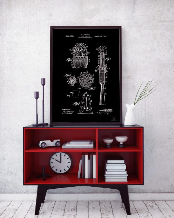 Rocket Apparatus Patent Poster