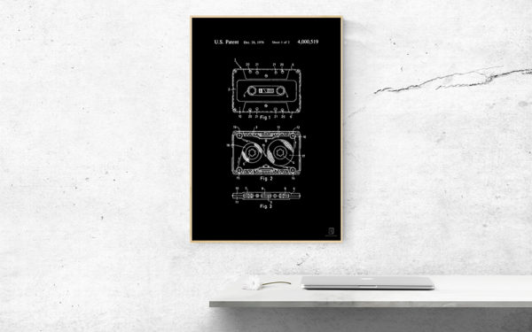 dj, gift, wall art, poster, cassette, music, producer