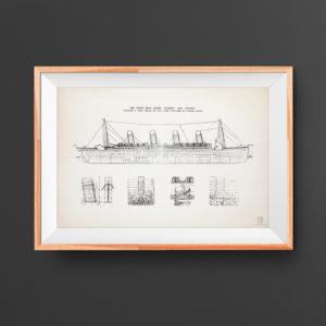 Titanic patent poster